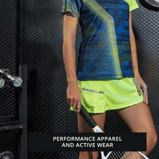 Performance apparel and active wear