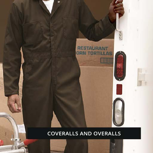 Coveralls and overalls