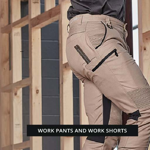 Work Pants and Work shorts